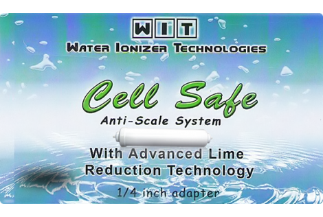 Water Ionizer Technologies – Cell Safe Anti-Scale Hard Water Filter