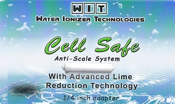 Water Ionizer Technologies ? Cell Safe Anti-Scale Hard Water Filter