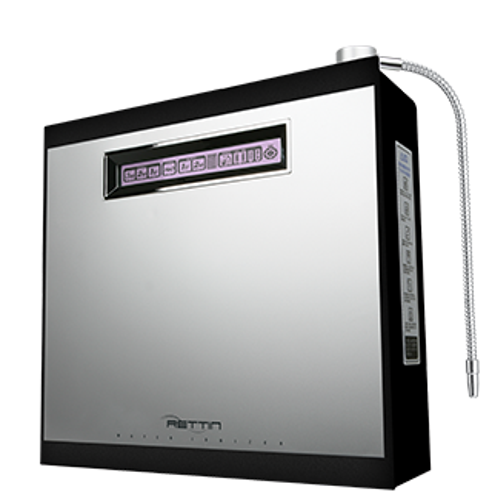 MMP-11 Turbo Water Ionizer – Stainless/Black