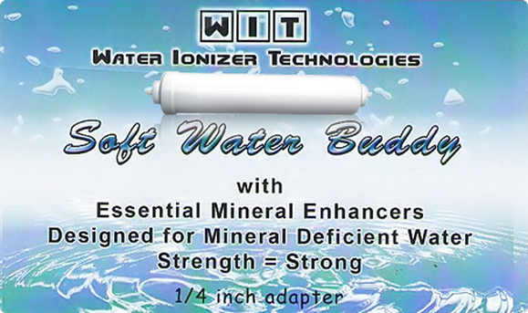 """SOFT WATER BUDDY"" REMINERALIZATION FILTER"