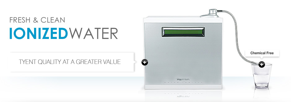 Tyent MMP-7070 TURBO Water Ionizer - The most advanced Ionizer in the Industry